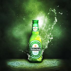 Thiết kế poster quảng cáo bia với photoshop