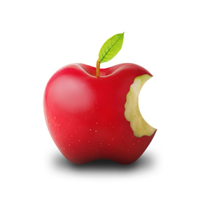 Logo của Apple trong đời thực