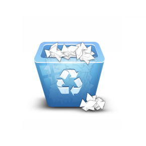 Tạo biểu tượng thùng rác 3D trong Photoshop