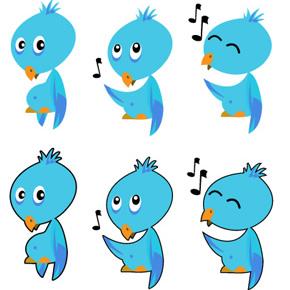 Bộ sự tập các biểu tượng twitter miễn phí