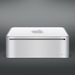 Thiết kế máy Mac Mini sử dụng photoshop