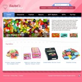 Website bán kẹo