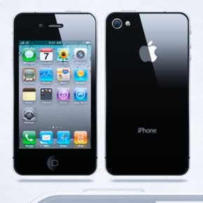 Vector iPhone 4 PSD File