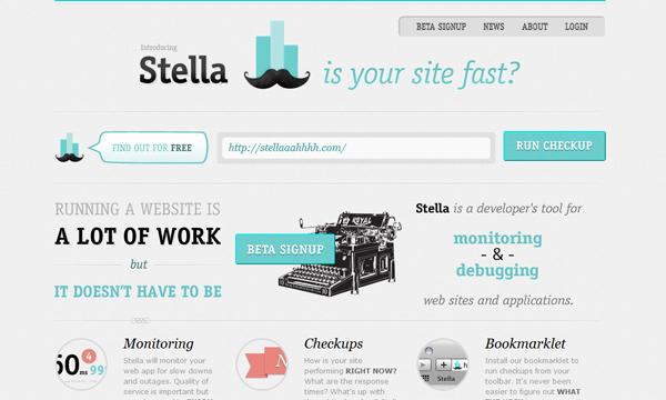 Web monitoring by Stella