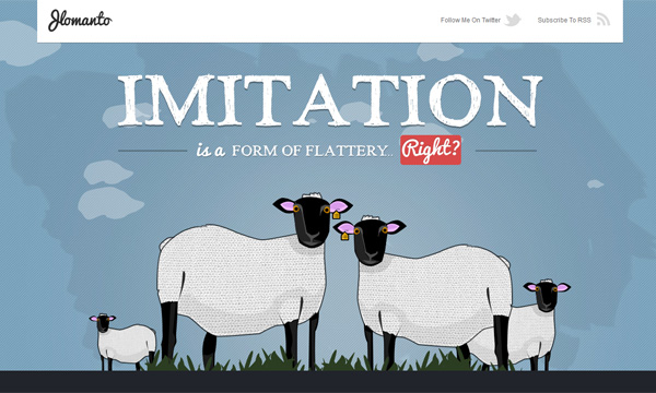 Imitation In Web Design