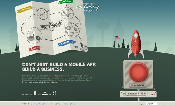The Guide to the App Galaxy by Google