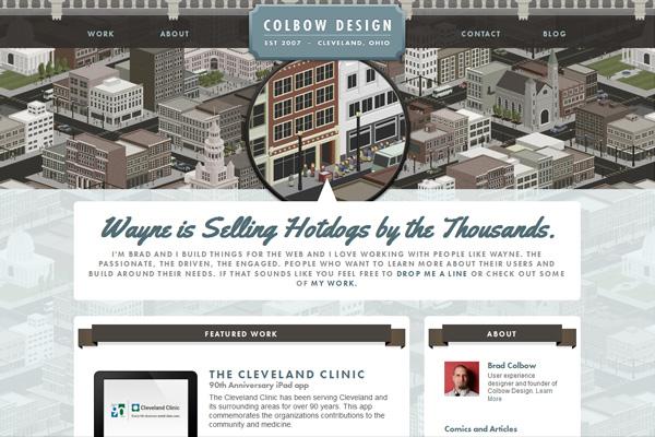 Colbow Design - Freelance Web Designer