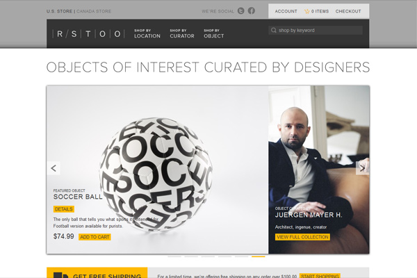RSTOO | Curated Design