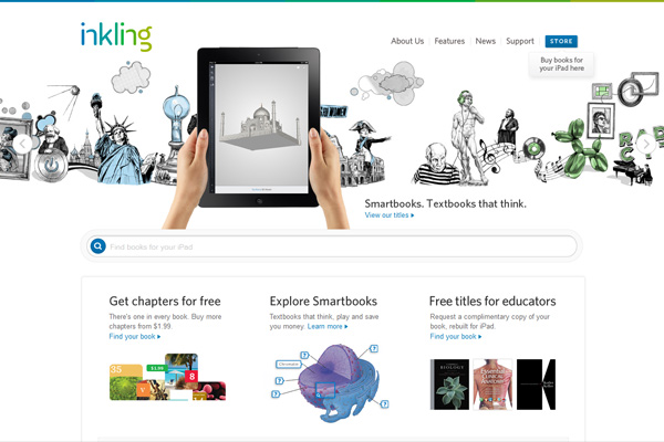 Inkling - Interactive textbooks for iPad.