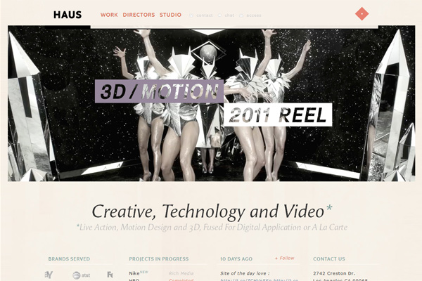 HAUS creative, technology and video