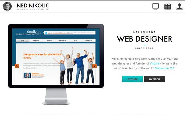 Melbourne Web Designer - Ned Nikolic