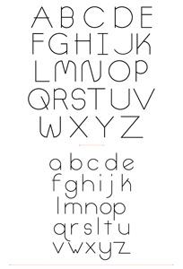 Thiết kế font chữ, sử dụng Illustrator và FontLab