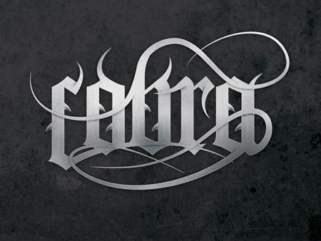 Làm thế nào để thiết kế Typogaphy Gothic?