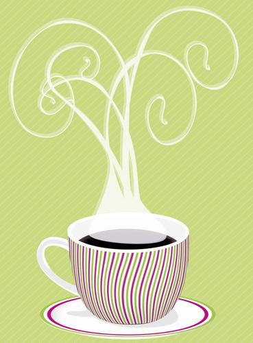 Vẽ nghệ thuật cốc cà phê sử dụng Adobe Illustrator