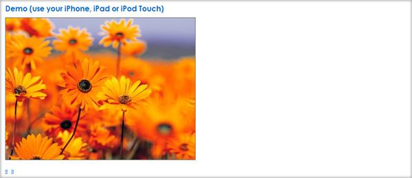 jQuery Touchwipe Plugin