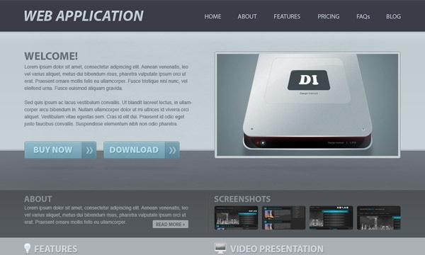 Thiết kế ứng dụng web với Photoshop