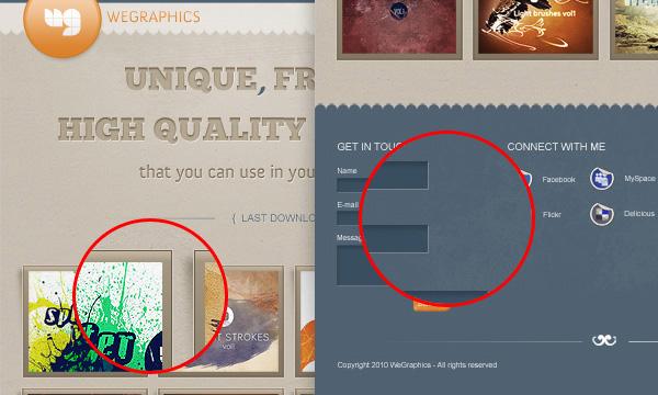 Cách thiết kế web layout sử dụng texture trong Photoshop