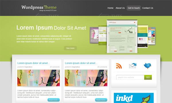 Thiết kế giao diện cho Wordpress với Photoshop