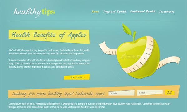 Thiết kế website về sức khỏe