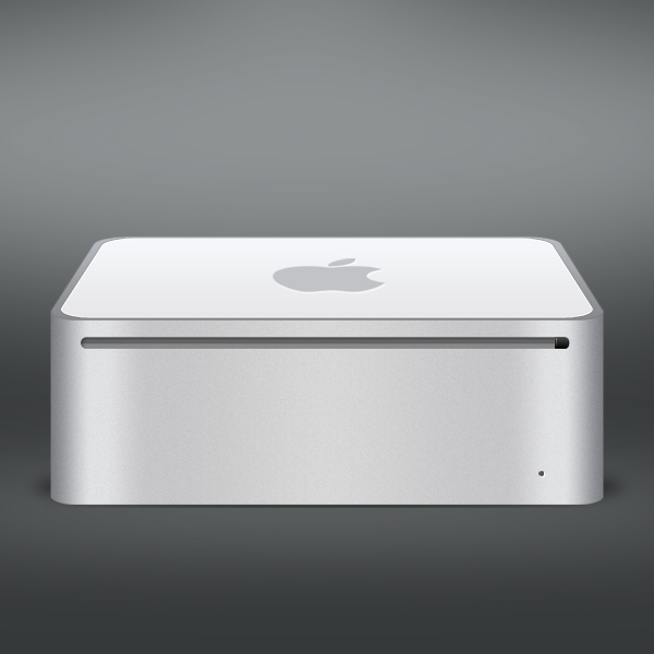 Create an Apple Mac Mini Using Photoshop