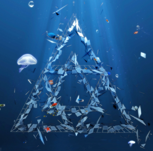 Design an Underwater Omega Code Poster