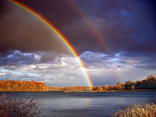 22 bức ảnh đẹp về cầu vồng