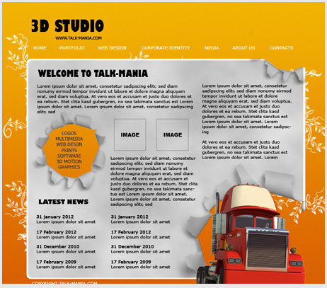 Photoshop web design tutorials