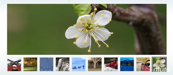 Tạo slideshow đơn giản sử dụng Mootools hoặc jQuer