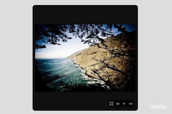 Gallery slideshow gọn nhẹ với jQuery