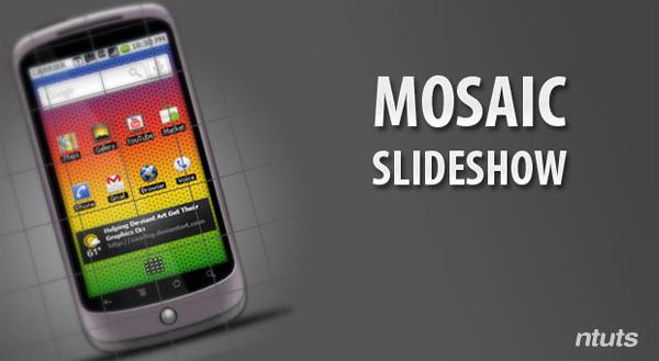 Mosaic slideshow sử dụng jQuery và CSS