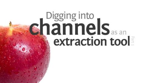 Sử dụng Channels để cắt/tách ảnh