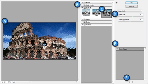 Filters trong Photoshop