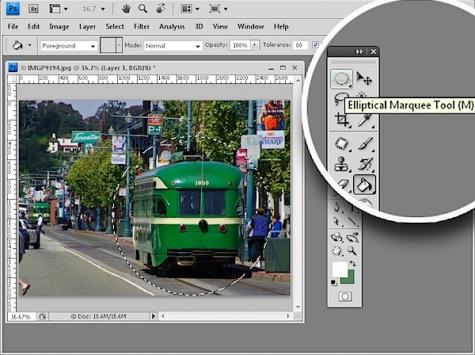 5 bí mật về công cụ Marquee Tools trong Photoshop